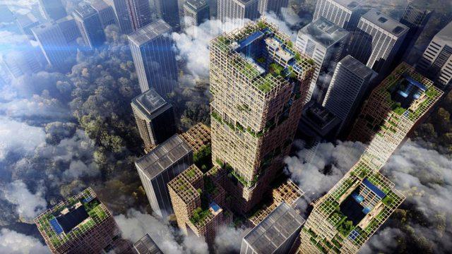 El rascacielos de madera más alto del mundo se construirá en Japón