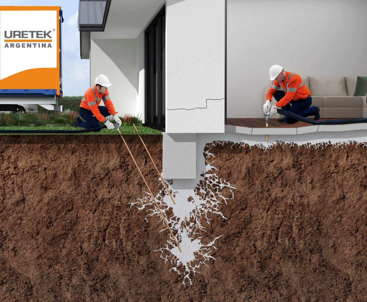 Estabilizacion de suelos y Elevacion de losas